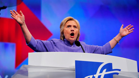 U.S. Democratic Presidential Candidate Hillary Clinton © Adam Bettcher