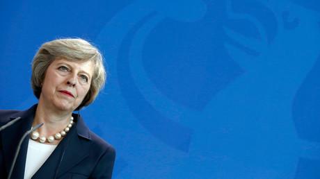 British Prime Minister Theresa May © Hannibal Hanschke