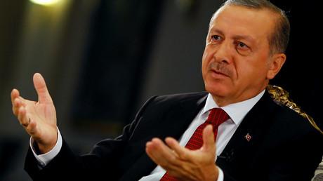 Turkish President Recep Tayyip Erdogan © Umit Bektas