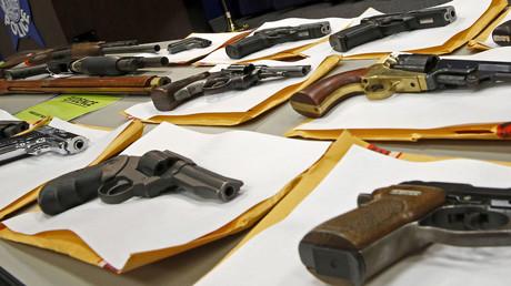 Gun background checks reach 17th straight monthly record - FBI