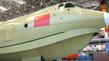 The craft can take off with a maximum weight of 53.5 tonnes. © CCTV News