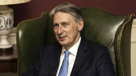 Britain's Chancellor of the Exchequer, Philip Hammond. © Carl Court