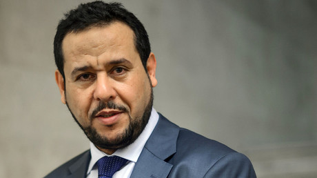 Leader of the Libyan conservative Islamist al-Watan Party and former head of Tripoli Military Council, Abdelhakim Belhadj. © Fabrice Coffrini