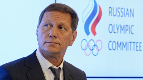 President of the Russian Olympic Committee Alexander Zhukov. © Evgeny Biyatov