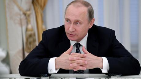 Russian President Vladimir Putin © Kirill Kudryavtsev