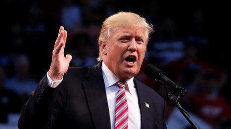 Republican presidential nominee Donald Trump. ©Carlo Allegri