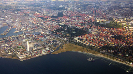 Aerial view of central Malmo © Wikipedia
