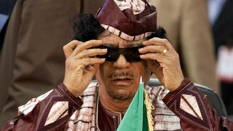 Former Libya's leader Muammar Gaddafi  © Carlos Garcia Rawlins