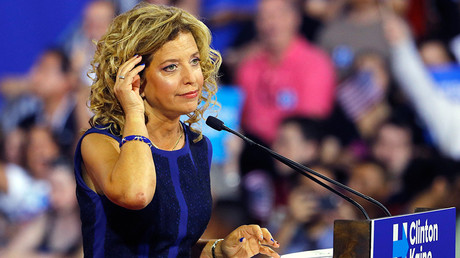 Democratic National Committee (DNC) Chairwoman Debbie Wasserman Schultz © Scott Audette