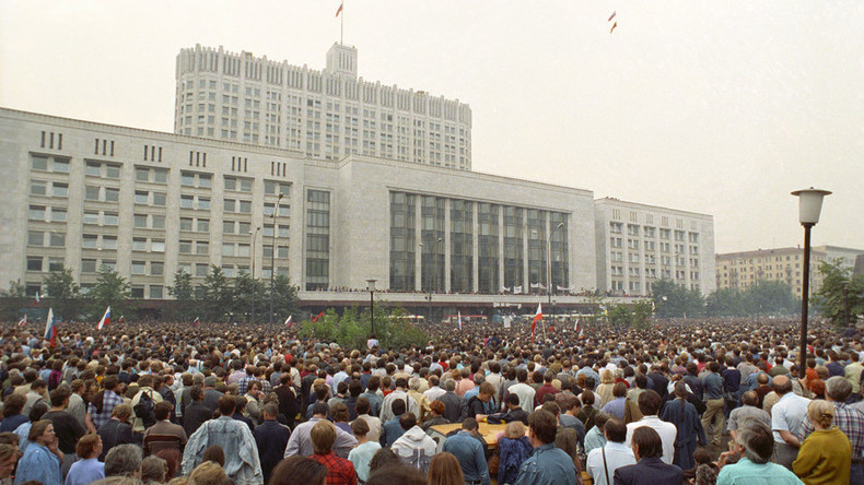 30% of Russians see failed 1991 coup as national tragedy
