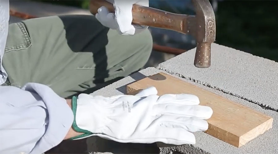 Hard as nails: Safety gloves withstand tough test (VIDEO)