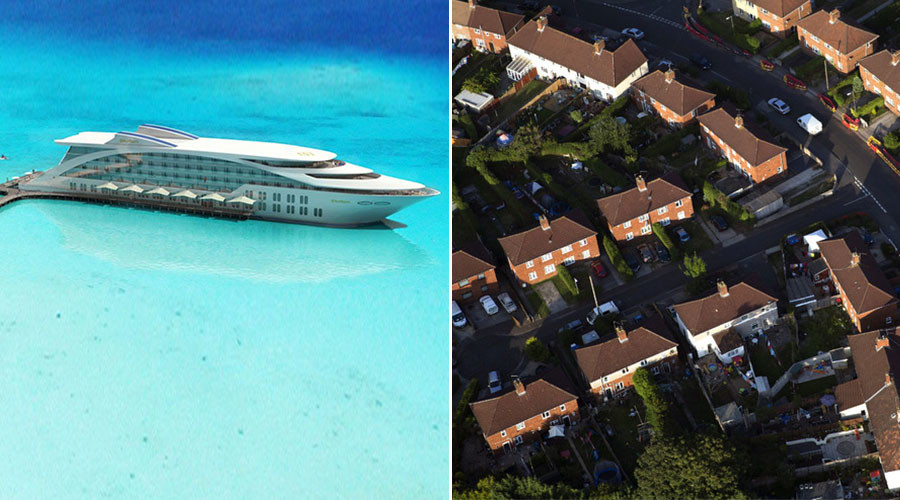 British officers stay on 5-star luxury superyachts while soldiers live in 'flea-infested' squalor