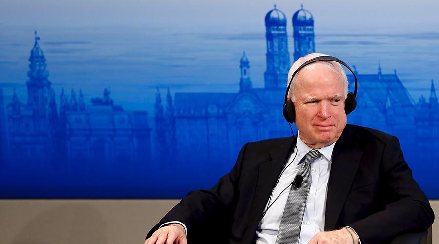 U.S. Senator John McCain © Michael Dalder