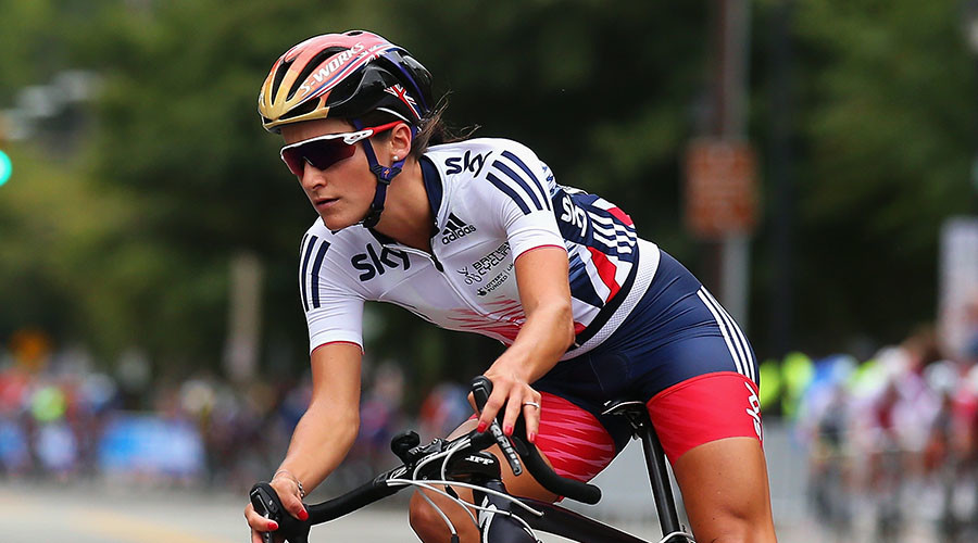 World road cycling champion Lizzie Armitstead. © Bryn Lennon / Getty Images / AFP
