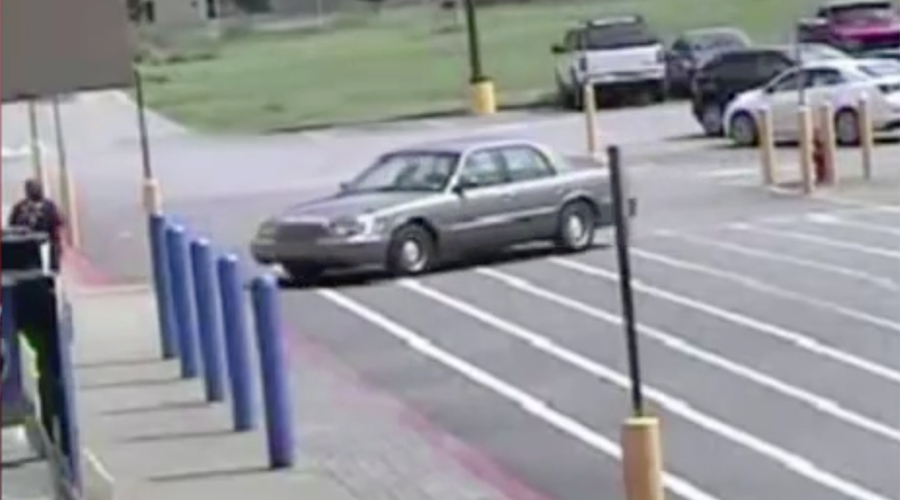 Canine carjacking: Impatient dogs caught crashing vehicle into Walmart (VIDEO)