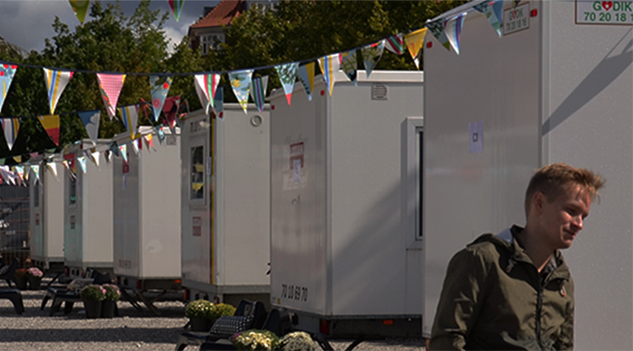 Danish students offered portacabins amid accommodation shortage