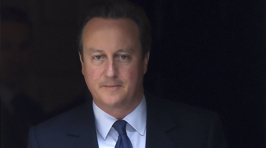 Britain's Prime Minister, David Cameron. © Toby Melville
