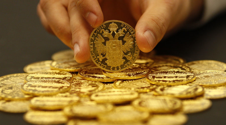Rattled investors seek shining path to gold