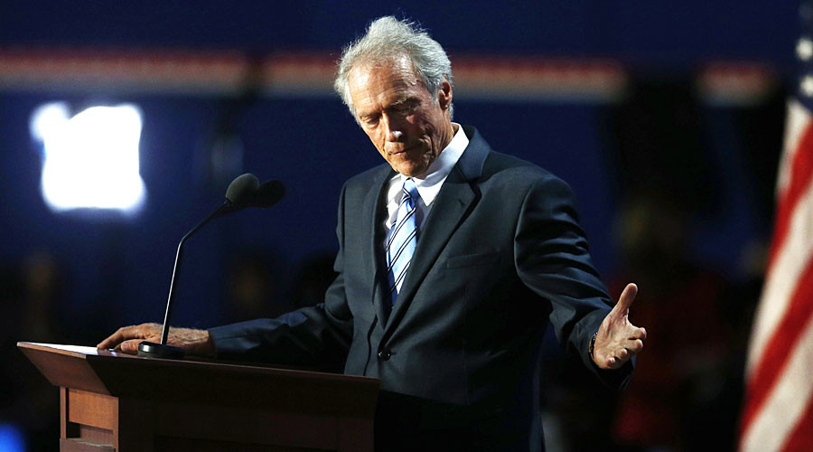 Actor Clint Eastwood. © Jason Reed