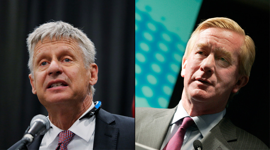 Gary Johnson and Bill Weld © Reuters