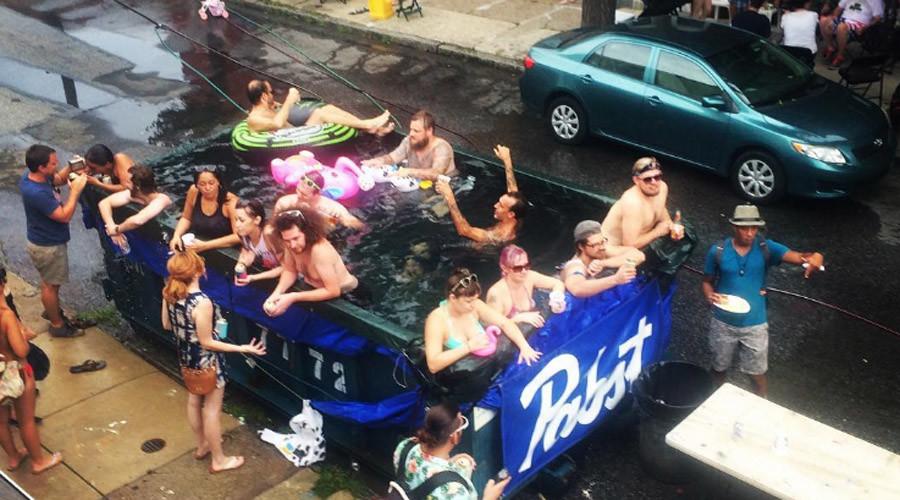 City Hall pulls plug on Pennsylvania dumpster swimming pool