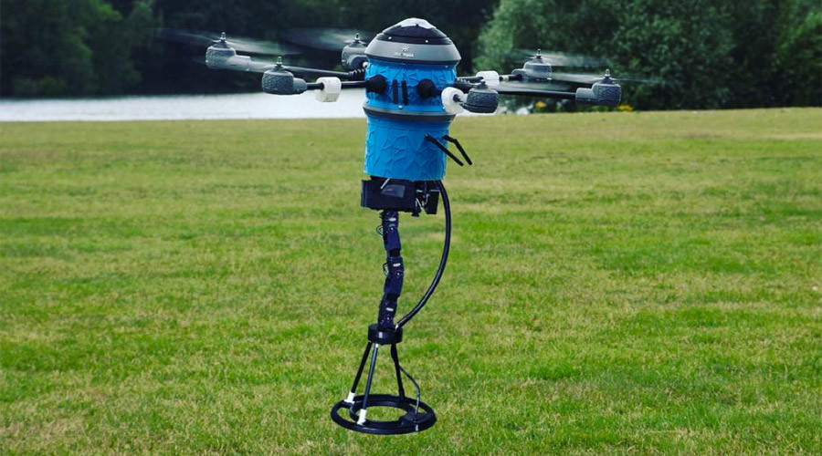 Bomb buster drone aims to solve landmine problem in ten years (VIDEO)