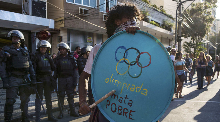'Brazil's exasperation with government corruption threatens to overshadow Rio Olympics'