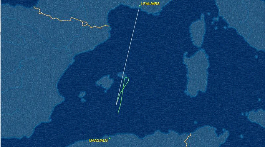 Air Algeria plane lands safely after technical fault
