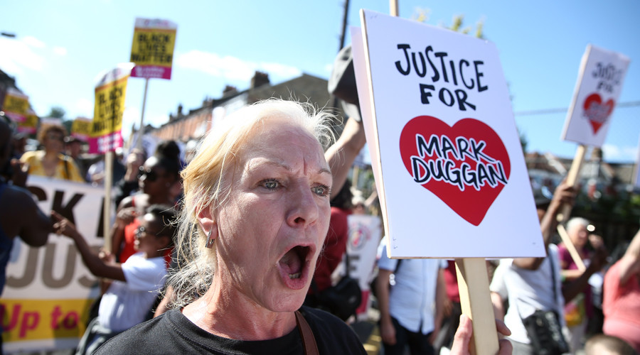 'Justice for Mark Duggan' march in London 5yrs after shooting death sparked major riots