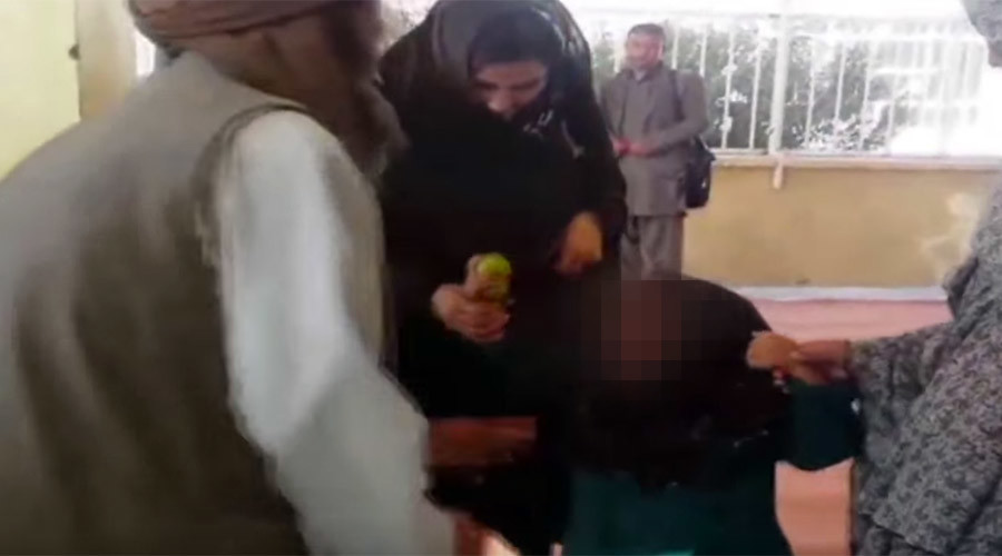 Afghan father sells 6-yo daughter into marriage for a goat, bag of rice