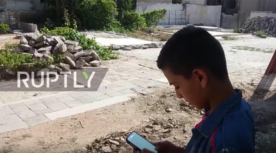 Syrian kids chase Pokémon in war-torn Aleppo (VIDEO)