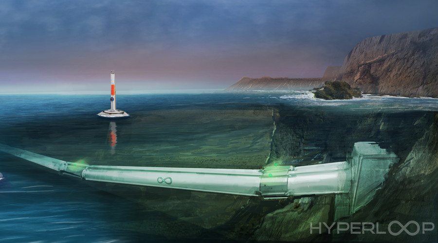 Hyperloop One to take on underwater transport