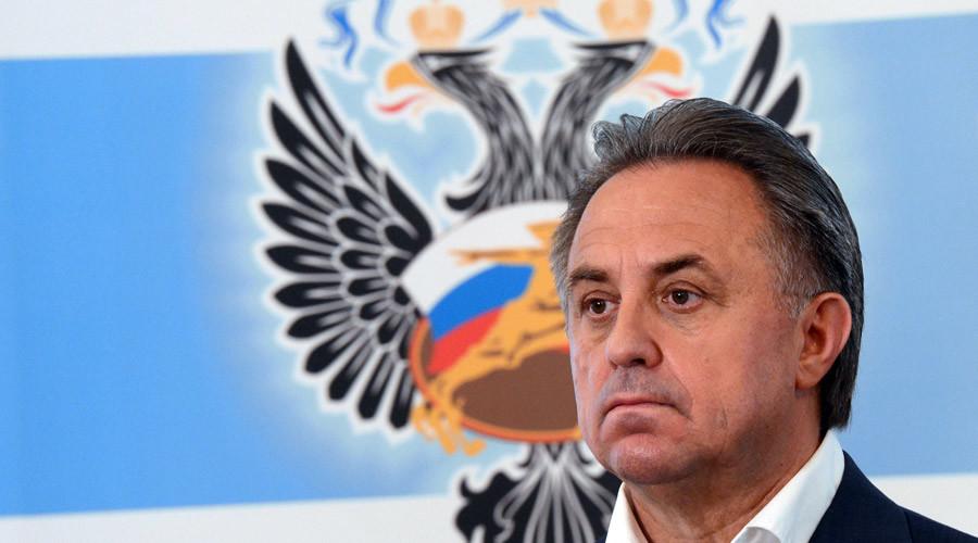 Russian Minister of Sport Vitaly Mutko ©Evgeny Biyatov