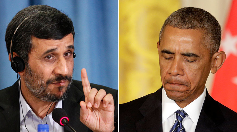 Ahmadinejad to Obama: You still have time to fix 'bitter past' & return $2bn to Iran