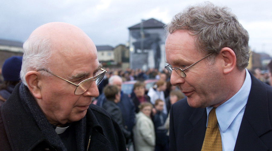 Bloody Sunday 'white handkerchief' Bishop Edward Daly dies at age 82