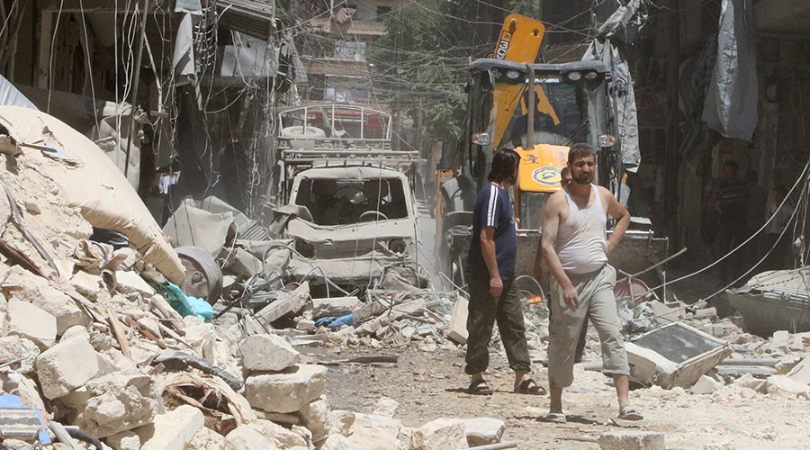 Arab monarchies pour in funds to support terrorist militants in Aleppo – report