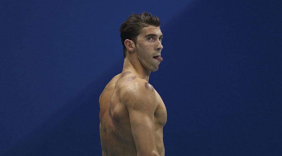 Michael Phelps (USA). ©Stefan Wermuth