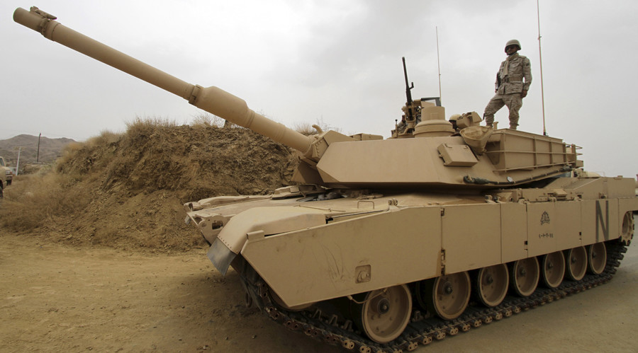 Rearming Riyadh: US approves $1.15bn tank sale to Saudi Arabia