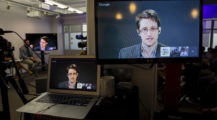 American whistleblower Edward Snowden © Andrew Kelly