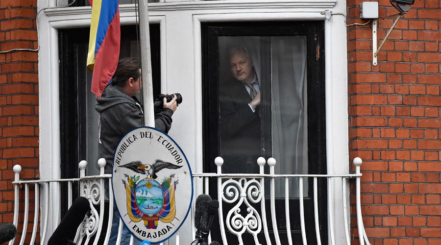 WikiLeaks founder Julian Assange ©Toby Melville