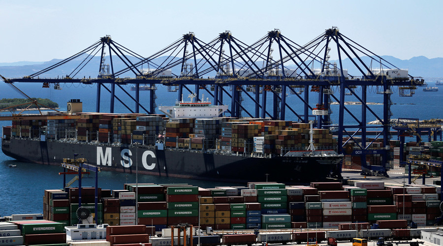 Greece's largest port taken over by Chinese firm