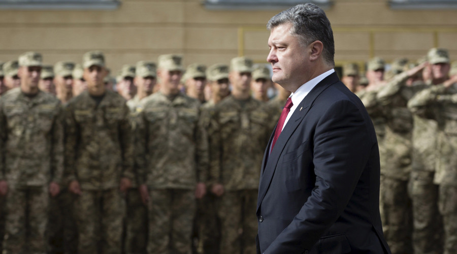 Ukrainian president orders forces on border with Crimea and eastern Ukraine on highest alert