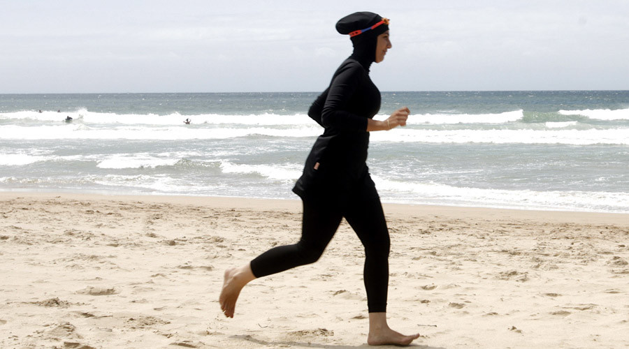 Burqinis banned from Cannes beaches for showing 'allegiance to terrorists' – French official