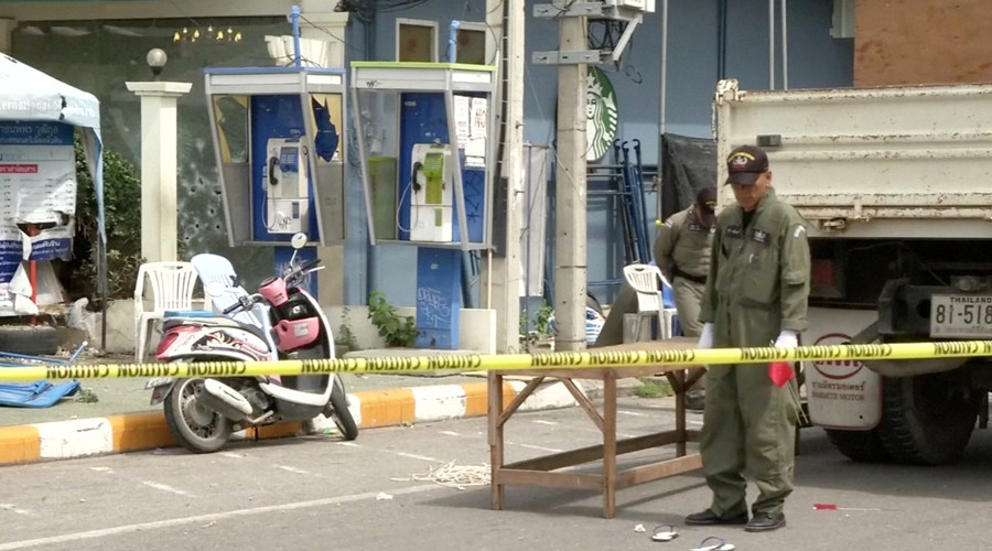 'Bangkok blames political opposition, not Islamic terrorists, for attacks on tourist spots'