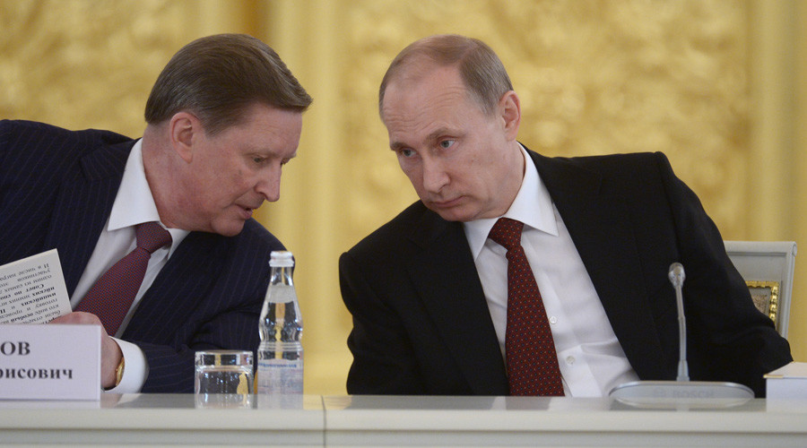 Putin removes Kremlin chief of staff from duties