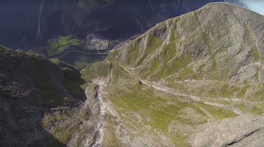 Base jumper feared dead after Norwegian stunt goes awry