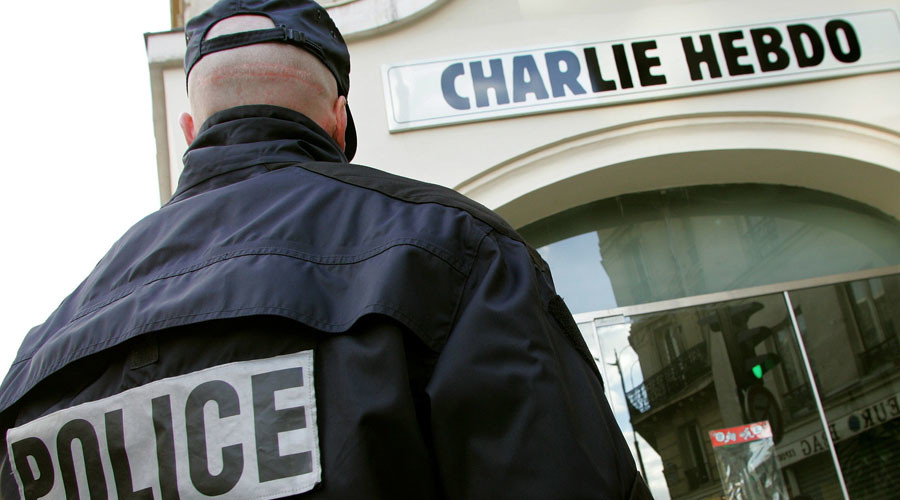 Charlie Hebdo reports death threats to police after publishing naked Muslims cartoon