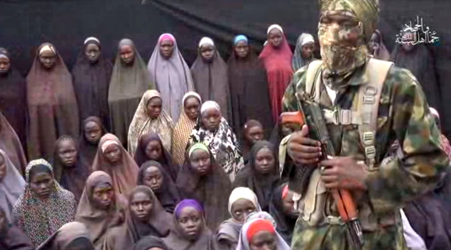 Kidnapped Chibok schoolgirls reportedly featured in latest Boko Haram footage (VIDEO)