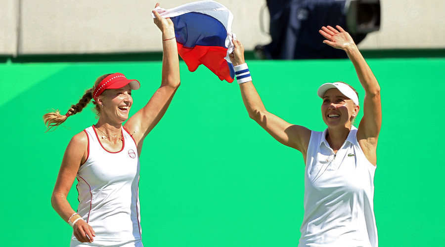 Russian women claim tennis doubles gold at Rio Games
