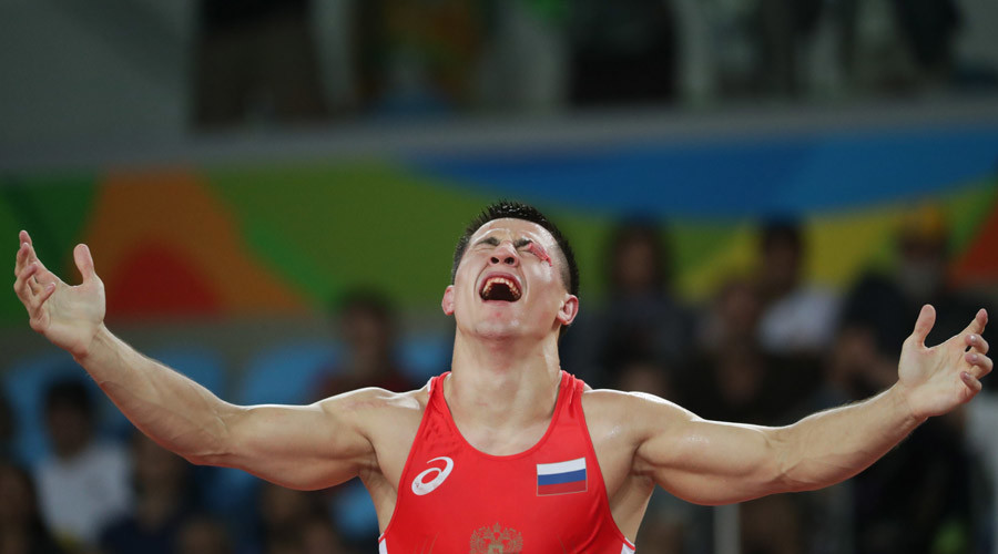 Russia's Vlasov wins Olympic gold in Greco-Roman wrestling